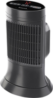 Honeywell - Ceramic Compact Tower Heater - Black