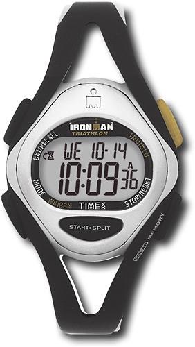Timex - Ironman Triathlon Sports Watch - Black/Silver