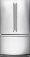 Electrolux - 22.5 Cu. Ft. Counter Depth French Door Refrigerator - Stainless-Steel