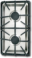 GE - Profile Gas Cooktop Module - Stainless-Steel