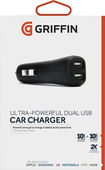 Griffin Technology - PowerJolt Dual Universal Vehicle Charger - Black
