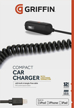 Griffin Technology - PowerJolt SE Vehicle Charger - Black