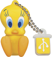EMTEC - Looney Tunes Tweety 8GB USB 2.0 Flash Drive - Yellow