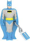 EMTEC - DC Comics Batman 8GB USB 2.0 Flash Drive - Blue/Gray