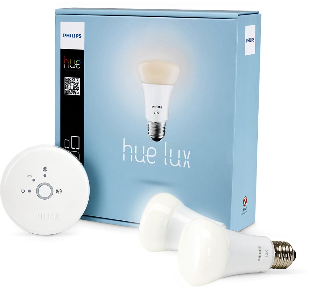Philips - hue Lux LED Starter Kit - Soft White