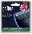 Braun - Series 1 CruZer Replacement Foil Cutter (1-Count) - Black