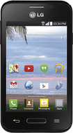 TRACFONE - LG L34C Optimus Fuel No-Contract Cell Phone - Black