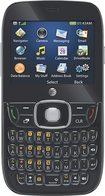 AT&T GoPhone - ZTE Z432 No-Contract Cell Phone - Black