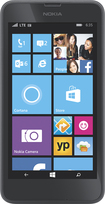 AT&T GoPhone - Nokia Lumia 635 4G No-Contract Cell Phone - Black