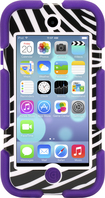 Griffin Technology - Survivor Case for Apple® iPod® touch 5th Generation - Purple/Zebra