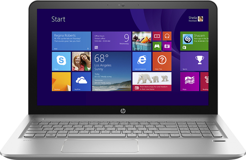 """HP HP ENVY 15.6"""" Touch-Screen Laptop AMD FX-Series 6GB Memory 1TB Hard Drive Natural Silver m6-p013dx"""