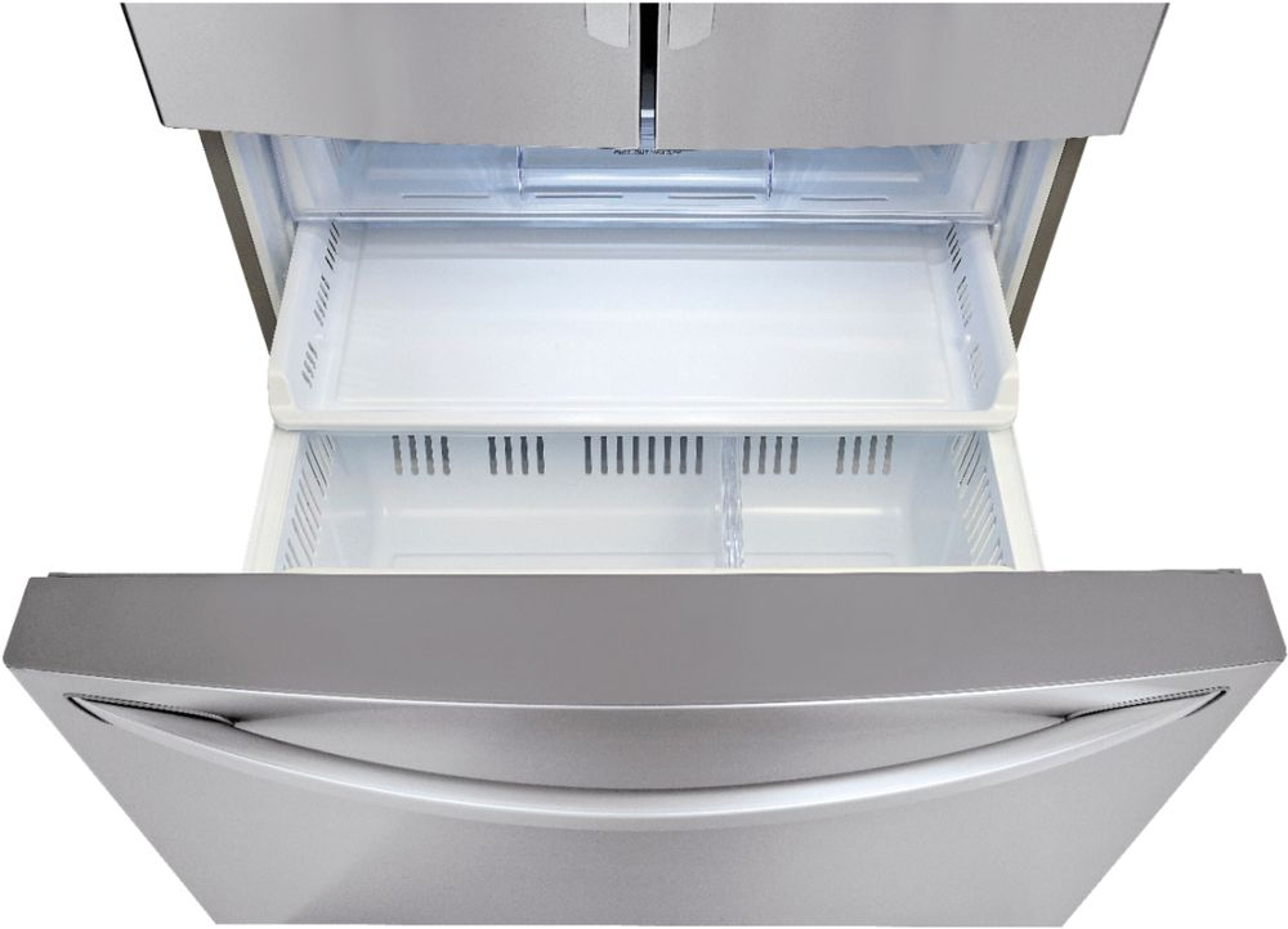 Lg 240 Cu Ft Counter Depth French Door Refrigerator With Thru
