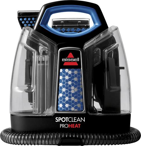 BISSELL - SpotClean ProHeat Handheld Deep Cleaner - Black/Motley Blue
