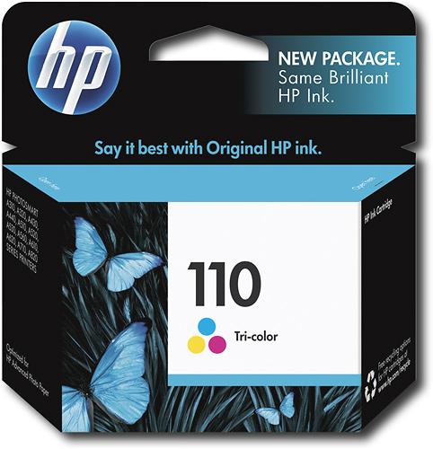 HP - 110 Tricolor Original Ink Cartridge - Cyan/Magenta/Yellow