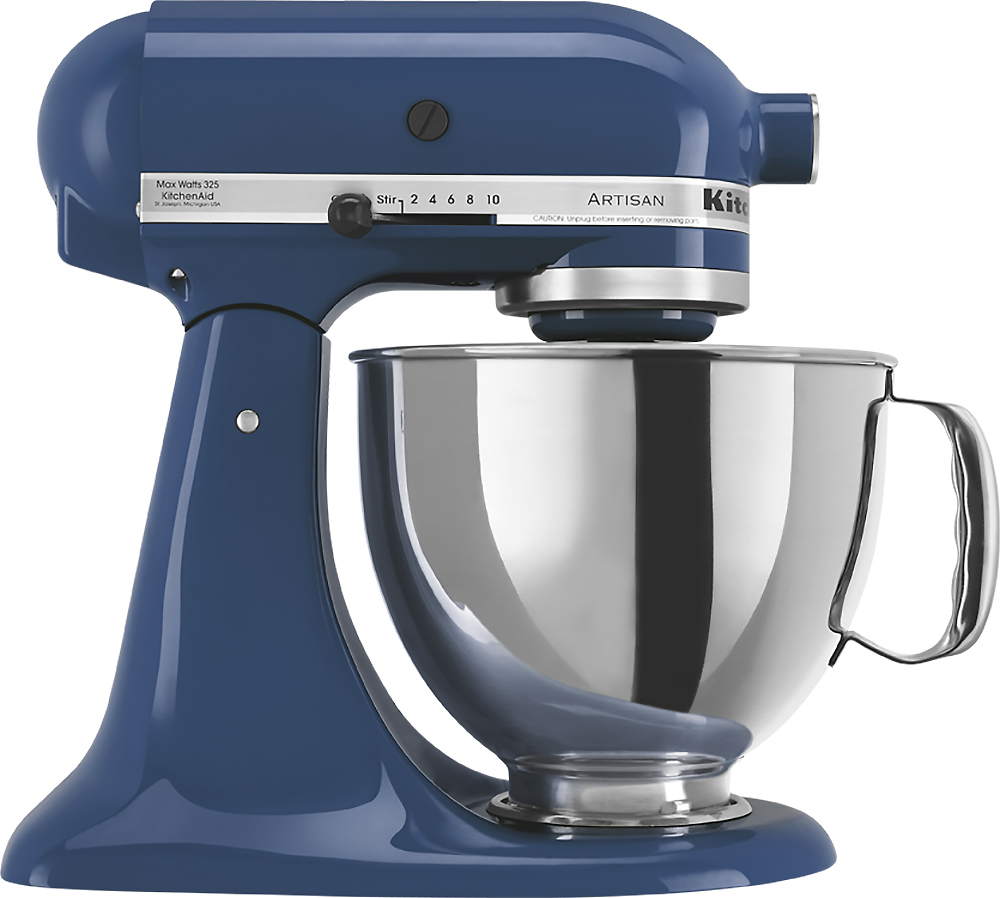 Kitchen Aid Ice Blue Kitchenaid Artisan Series Tilt Head Stand Mixer Blue Ksm150psbw