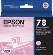 Epson - Claria - 78 Ink Cartridge T078620 - Light Magenta - Light Magenta