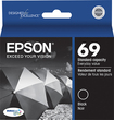 Epson - DURABrite Ultra - 69 Ink Jet Cartridge T069120 - Black - Black
