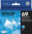 Epson - DURABrite Ultra 69 Ink Jet Cartridge T069220 - Cyan
