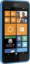Boost Mobile - Nokia Lumia 635 4G No-Contract Cell Phone - Electric Blue
