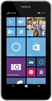 T-Mobile Prepaid - Nokia Lumia 635 4G No-Contract Cell Phone - White