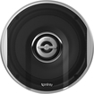 "Infinity - Primus 6-1/2"" 2-Way Car Speakers with Plus One Woofer Cones (Pair) - Black"