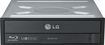 LG - 16x Internal Blu-Ray Disc Double-Layer DVD±RW/CD-RW Drive - Black