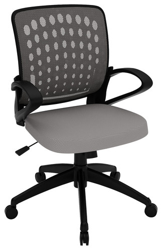 Z-Line Designs - Mesh Task Chair - Gray