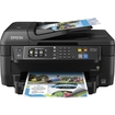 Epson - WorkForce WF-2660 Network-Ready Wireless All-In-One Printer - Black