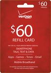 Verizon Wireless Prepaid - $60 Top-Up Prepaid Card - Red
