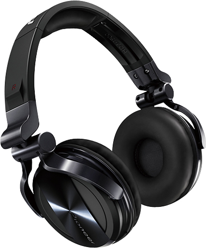 Pioneer - Over-The-Ear DJ Headphones - Black