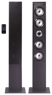 Craig - 2-Way Floorstanding Tower Speaker (Each) - Black