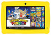 "ClickN Kids - 7"" Tablet - 8GB - Yellow"
