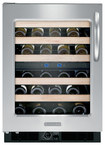 KitchenAid - 46-Bottle Wine Cellar - Black