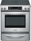 "KitchenAid - Architect Series II 30"" Self-Cleaning Slide-In Electric Range - Stainless-Steel"
