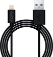 Incipio - 3.3' Lightning-to-USB Charge-and-Sync Cable - Black