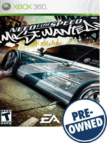 Need for Speed: Most Wanted — PRE-Owned - Xbox 360
