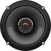 "JBL - 6-1/2"" 2-Way Coaxial Car Speakers with Polypropylene Cones (Pair) - Black"