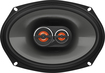 "JBL - 6"" x 9"" 3-Way Car Speakers with Polypropylene Cones (Pair) - Black"