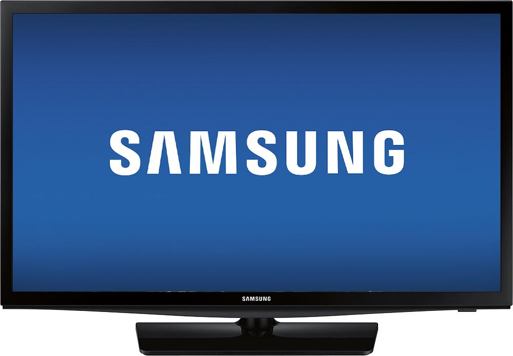 "Samsung - 24"" Class (23-5/8"" Diag.) - LED - 720p - Smart - HDTV - Black"