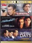 15 Minutes/Frequency/Thirteen Days (2 Disc) (DVD)