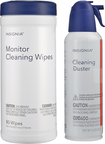 Insignia™ - 8-Oz. Cleaning Duster and Monitor Wipes (80-Pack)