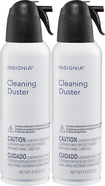 Insignia™ - 8-Oz. Cleaning Dusters (2-Pack) - White