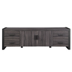Walker Edison - Tv Stand For Most Flat-panel Tvs Up To 70\