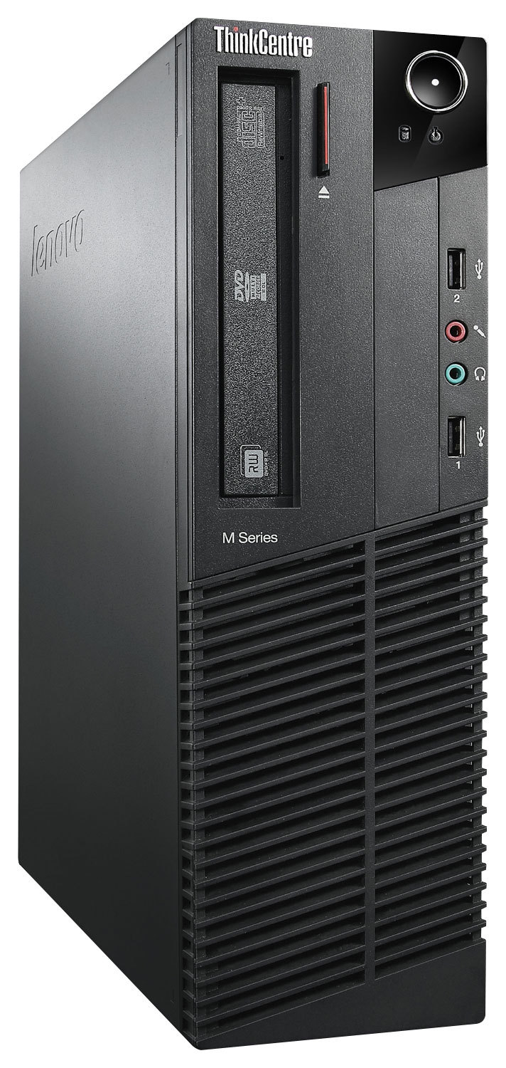 Lenovo ThinkCentre M92p 2988E1U Desktop Computer - Intel Core i5 i5-3570 3.40 GHz - Small Form Factor - Business Black - 4GB DDR3 SDRAM RAM - 500GB HDD - DVD-Writer DVD-RAM/±R/±RW - Intel HD 2500 - Windows 7 Professional 64-bit - 10 x Total Nu
