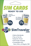 SIMtraveler - International and 3G Data SIM Cards - White