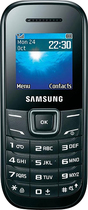 Samsung - Keystone 2 E1205L Mobile Phone (Unlocked) - Black