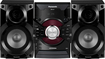 Panasonic - 350W Bookshelf Stereo System - Black