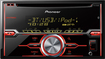 Pioneer - CD - Built-In Bluetooth - Apple® iPod®-Ready - In-Dash Receiver with Wireless Remote - Black/Silver/Red/Pink/Violet