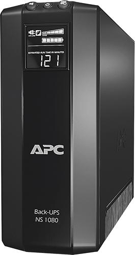 APC - Back-UPS 1080VA UPS - Black