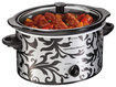 Hamilton Beach - 3-Quart Slow Cooker - Black/Silver
